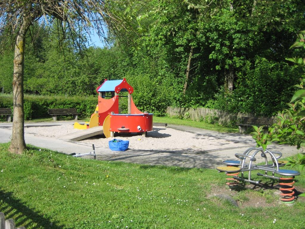 Spielplatz Justinus-Kerner-Strasse - Kleinkinder