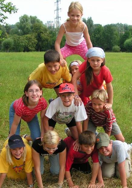 Kinderpyramide