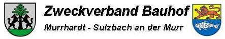 ZV Bauhof - Schriftzug mit Wappen