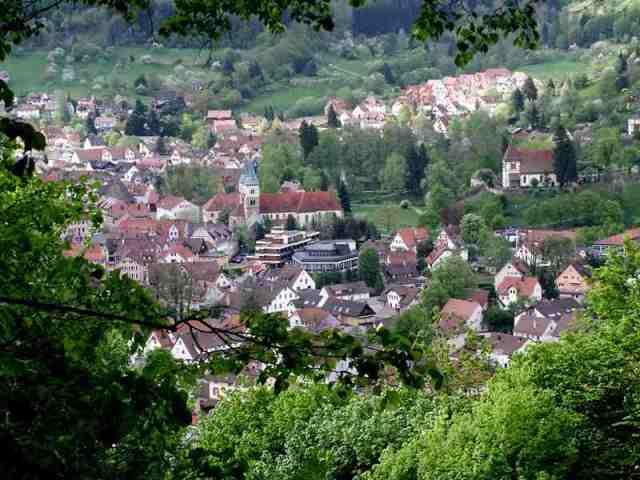 Ansicht vom Hofberg