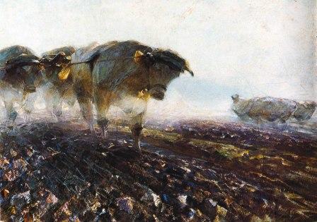 Heinrich von Zügel (Schwere Arbeit)