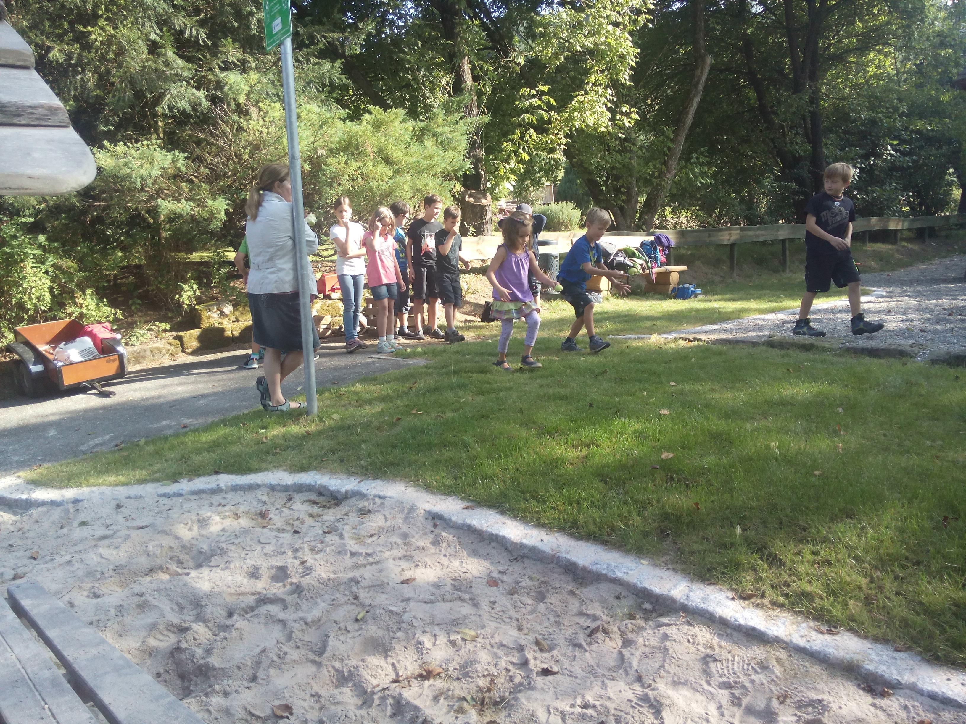 Spiel und Spaß in den Sommerferien