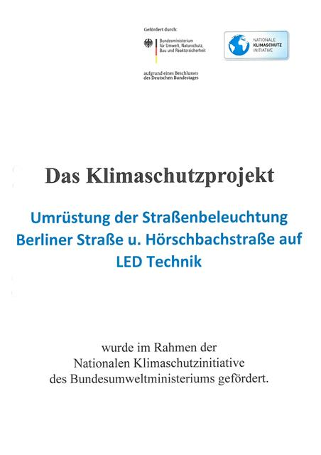 LED Ümrüstung Hörschbachstraße