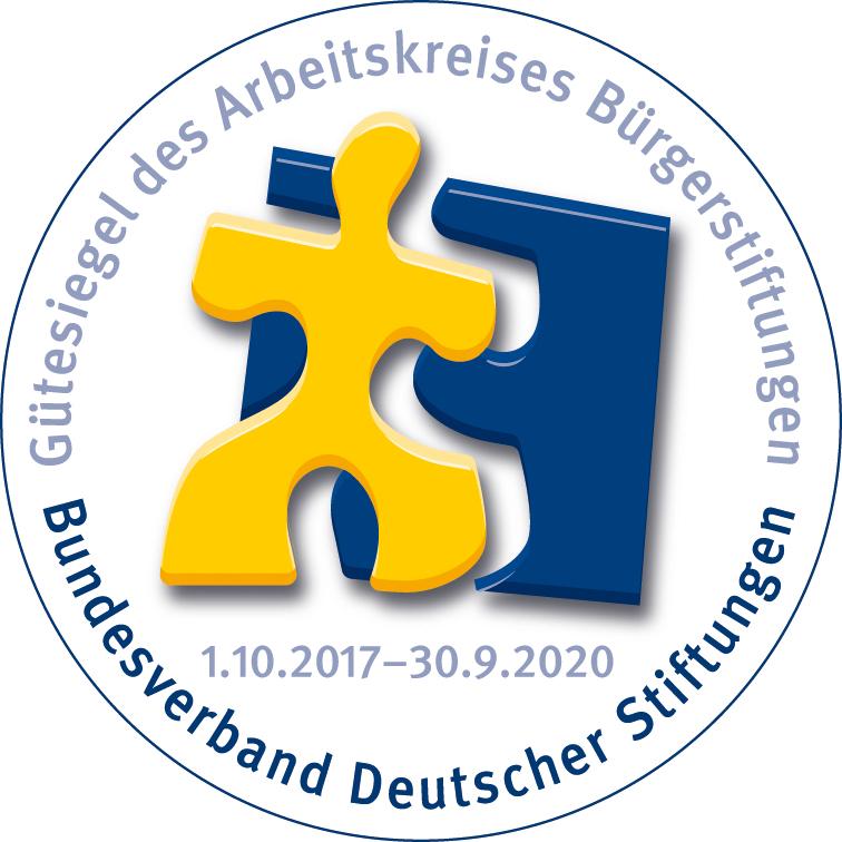 Gütesiegel Bürgerstiftung 2017 2020