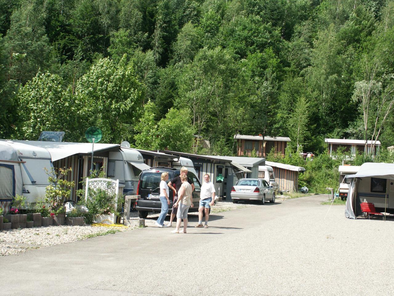 Waldsee-Camping