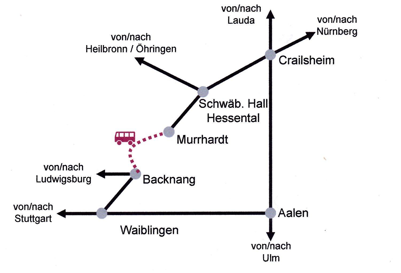 Streckenkarte