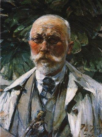 Heinrich von Zügel - Selbstportrait