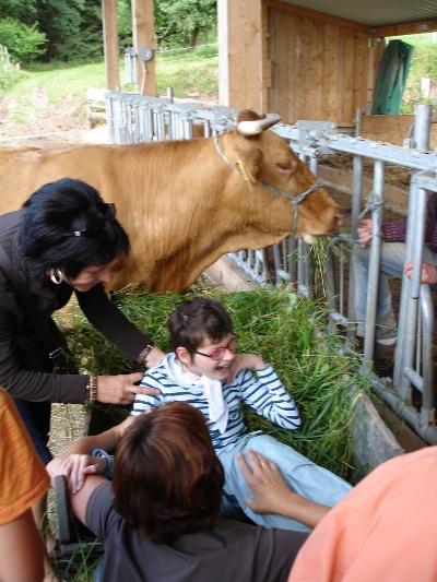 Kinder - Kuh (Bodelschwingh-Schule)