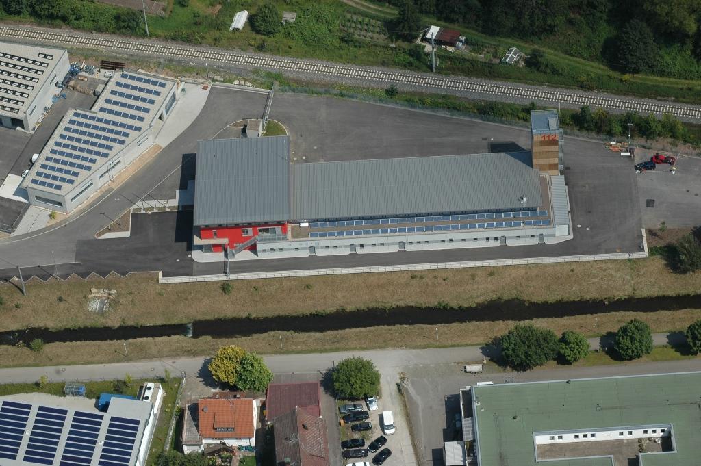 Feuerwehrhaus - Luftbild 2009