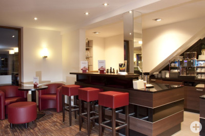 Café am oberen Tor, Thekenbereich