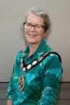 Sheila Gore Bürgermeisterin der Stadt Frome