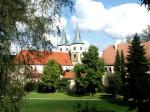 Stadtgarten Blick auf ehemaliges Kloster