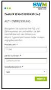 Zählerstandserfassung Stadtwerke Murrhardt