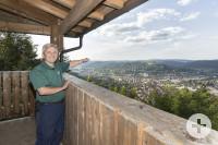 Naturparkführer Walter Hieber bei seinem Lieblingsplatz