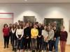 Schülerinnen und Schüler des Lycée Hugo auf Schüleraustausch in Murrhardt im Dezember 2019