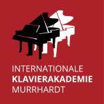 Logo roter Hintergrund