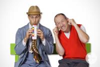 Zwei Herren machen Musik