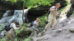 Wandern Hörschbachschlucht - Hintere Wasserfälle
