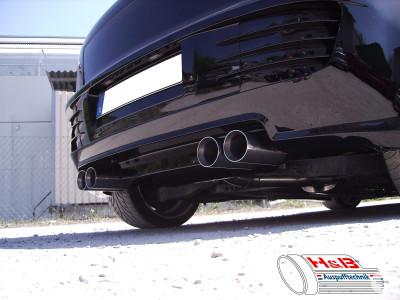 Auspuffanlage Audi A3