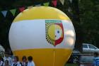 Ballon mit dem Wappen der Stadt Rabka-Zdrój