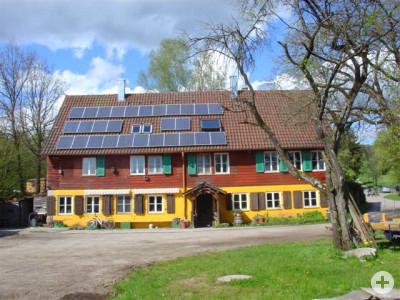 """Das """"Gemeinschaftshaus"""" des Wacholderhof e.V. – Südansicht"""