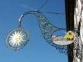 Wirtshausschild Sonne-Post