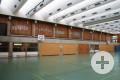 Gymnasium Sporthalle innen