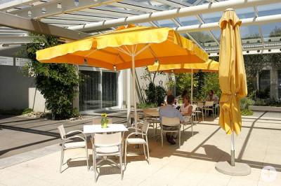 Café Außenbereich
