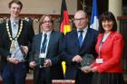Vierertreffen_Rabka: die Bürgermeister und Verterter der Partnerstädte
