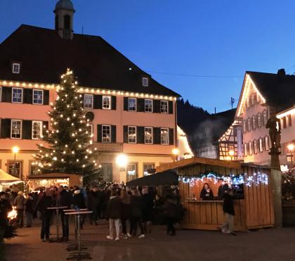 Murrhardter Weihnachtsmarkt  <c> Stadt Murrhardt