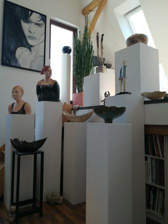Verschiedene Skulpturen