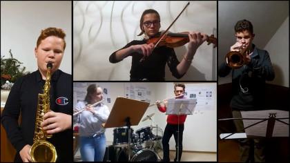 Videocollagen der Partnermusikschulen