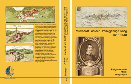 Außenseiten des Buches Murrhardt und der Dreißigjährige Krieg