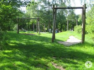 Waldsee-Spielplätze - unterer Spielplatz am Bach