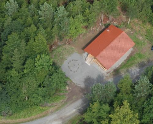 Waldkindergarten - Luftbild