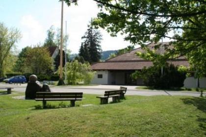 Gemeindehalle Fornsbach von aussen