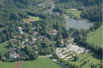Luftaufnahme - Lage des Waldsee