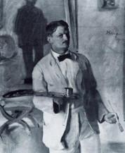 Gustav Essig Selbstportrait